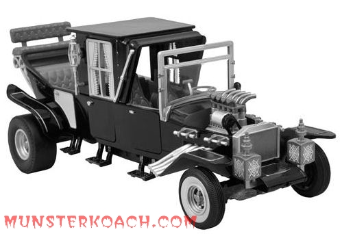 The Black & White Electronic Munster Koach
