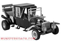 Electronic Black & White Munster Koach