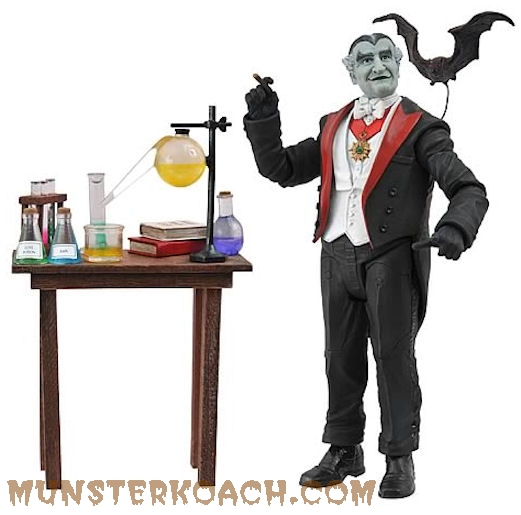 Diamond Select Grandpa Munster Action Figure