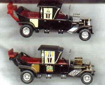 Comparing the Johnny Lightning and Racing Champion 1:64 diecast cars