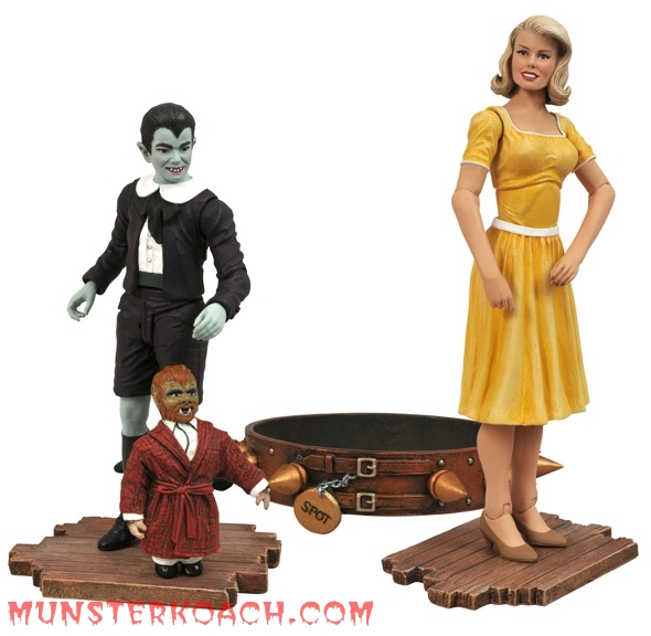 Marilyn and Eddie figures