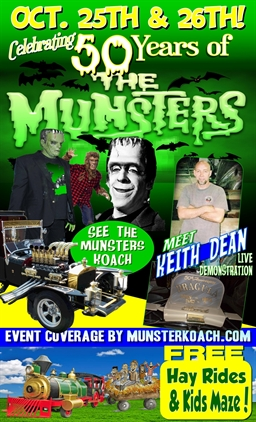 Munsters 50th Anniversary Weekend!